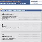 Worksheet Smart Recovery Worksheets smart worksheets recovery australia abcs